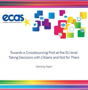 Towards a Crowdsourcing Pilot at the EU Level